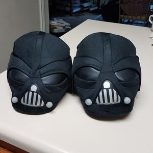 Darth Vader Slippers Size M (8-9)